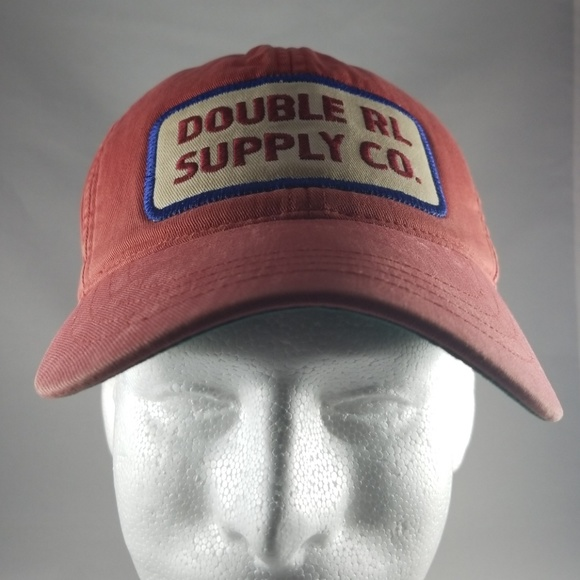 446f21c5092 Polo Ralph Lauren Double RL Supply Co Twill Cap